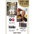 GQ+ Conde Nast Traveller(Combo), 1 year printdigital, english