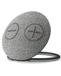 Portronics Dome Portable Bluetooth Speaker with Mic,  grey