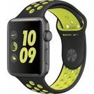 Apple Watch Nike+ , 42mm Space Grey Aluminium Case with Black/Volt Nike Sport Band (MP0A2HN/A)