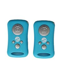 Zync MediaShutter Bluetooth Remote Control for Selfies & Groupies for Smartphone,  blue