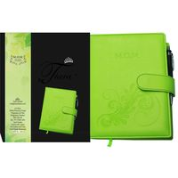 Tiara First Year Pregnancy Cum Planner M. O. M Diary Lime Green A5 Size Journal