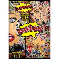 Tiara New Designer Comic Note Books Diary, multicolor