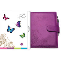 Tiara Pregnancy Journal Record Book (Tiara-35), wine