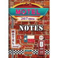 Tiara New Designer Crafted Motel Note Book Diary, multicolor