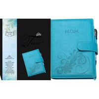 Tiara First Year Pregnancy Cum Planner M. O. M Diary Baby Blue A5 Size Journal
