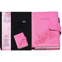 Tiara First Year Pregnancy Cum Planner M. O. M Diary Pink A5 Size Journal