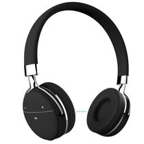 Portronics Muffs Pro Wireless Bluetooth Headphone with AUX Port,  black