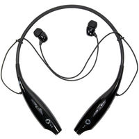 Dillionlione HBS730 In The Ear Bluetooth Headset With Mic,  black