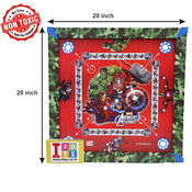 Itoys Marvel Avengers Carrom Board-20X20 Size,  green