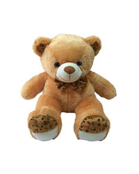 Kuddles 2 Feet Fluffy Polka Teddy Bear Soft Toys,  brown