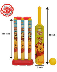 Itoys Disney Winnie The Pooh My First Cricket Set-Plastic,  yellow