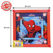 Itoys Marvel Ultimate Spider Man Carrom Board-20X20 Size,  red