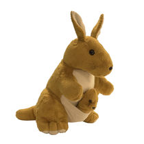 Ultra Kangaroo Soft Toy 12 Inches (1043UST),  brown