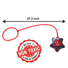 Itoys Marvel Ultimate Spider Man My First Foot Hula Hoop,  red