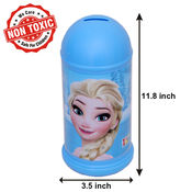 Itoys Disney Forzen Coin Bank,  blue