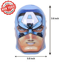 Itoys Avengers Captain America Shape Coin Bank,  blue