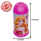 Itoys Disney Princess Coin Bank,  red