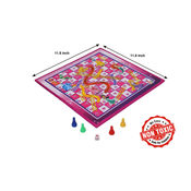 Itoys Disney Princess 2 In 1 My First Fun Board-Write White Board With Snakes &Ladder Game, purple