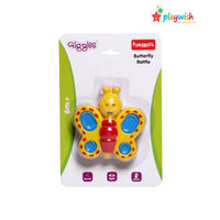 Giggles Butterfly Rattle