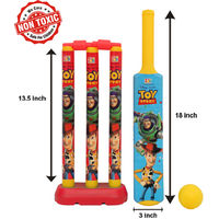 Itoys Toy Story My First Cricket Set-Plastic,  yellow