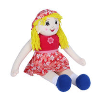 Ultra Arabia Standing Doll Soft Toy 27 Inches (1256UST),  red