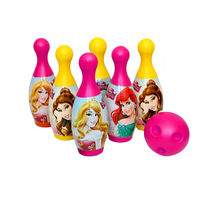 Itoys Disney Princess Bowling Set, multicolor