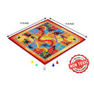 Itoys Marvel Avengers 2 In 1 My First Fun Board-Write White Board With Snakes & Ladder Game,  red