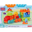 Mega Bloks Abc Learning Train - 60 Pieces Multicolor