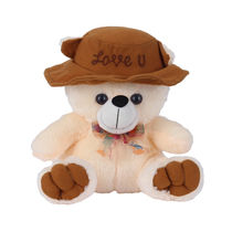 Ultra Cap Teddy Soft Toy 9 Inches (1116UST), butter