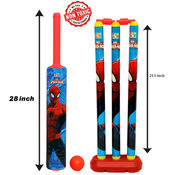 Itoys Marvel Ultimate Spider Man Cricket Set-Big Size, multicolor
