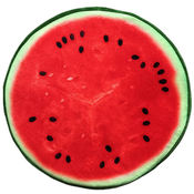 Dimpy Stuff Water Melon Cushion Stuff Toy Red & Green Color Theme