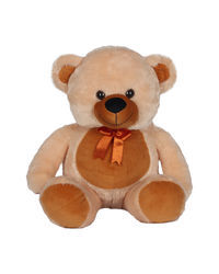 Ultra Soft Toy Camel Teddy Bear With Bow Tie 18 Inches (1265UST), camel brown