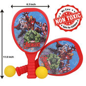 Itoys Marvel Avengers My First Plastic Racket Set,  red