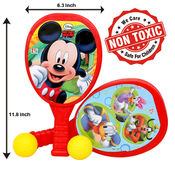 Itoys Disney Mickey My First Plastic Racket Set,  red