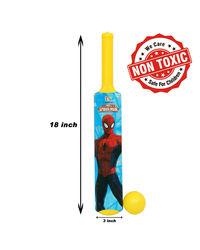 Itoys Marvel Ultimate Spider Man My First Bat & Ball,  yellow