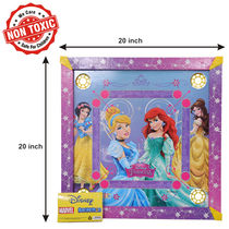 Itoys Disney Princess Carrom Board-20X20 Size, purple