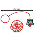Itoys Disney Mickey My First Foot Hula Hoop,  red