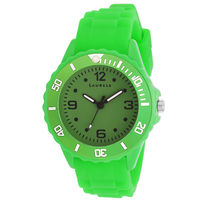 Laurels Ice Series Green Kids Watch (LO-IC-0404L)
