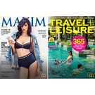 Travel+ Leisure & Maxim (Combo), english, 1 year