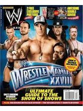 WWE MAGAZINE, 1 year, english