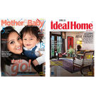Mother & Baby+ Ideal Home & Garden, 1 year, english