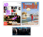 Conde Nast Traveller+ Architectural Digest+ GQ, 1 year, english