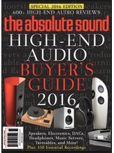 Absolute Sound Buyers Guide, 1 year, english