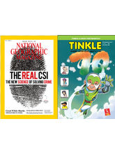 Tinkle Magazine & NG Combo, (English, 1 Year)