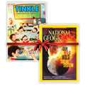 National Geographic & Tinkle magazine Combo, 1 year, english