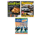 Lonely Planet+ Top Gear+ Good Food, 1 year, english