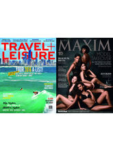 Travel + Leisure & Maxim (Combo) (English, 1 Year) + 50 % DISCOUNT