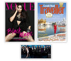 Vogue+ GQ+ Conde Nast Traveller, 1 year, english