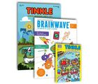 Tinkle magazine & digest + Brainwave (English, 1 Year)