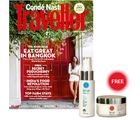 Conde Nast Traveller (2 year, English) (Subscribe & get InstaShield Anti-Photoageing Cream & Multi Action Night Cream from Iraa worth INR 1384)